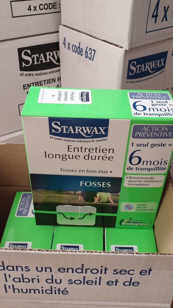Septikų priežiūros priemonė STARWAX 637